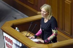 40-річна нардеп від БПП Марія Іонова народила сина