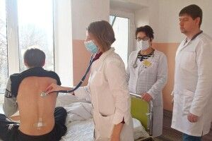 У Рівненському військовому госпіталі практикуються інтерни