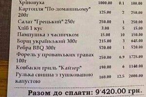«Жесть, обдираловка»: чек із Буковеля позбавив дару мови