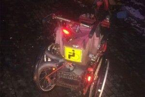 У Луцьку водій збив чоловіка на інвалідному візку