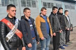 Провели в армію шістьох юнаків із Любешівщини