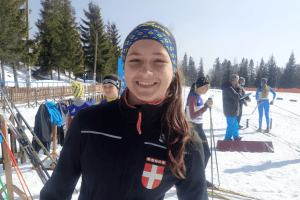 14-річна Аліна Хміль зі збірної Волині здобула чергове золото на Чемпіонаті України з лижних гонок серед юнаків та дівчат (Фото)