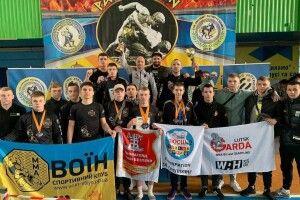 Волинські спортсмени вибороли третє командне місце на Всеукраїнському чемпіонаті з грепплінгу і панкратіону