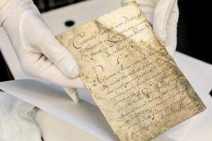 Уперше за311літ вУкраїну везуть оригінал Конституції Пилипа Орлика