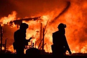 На Волині горіла хата: вогонь знищив меблі та техніку