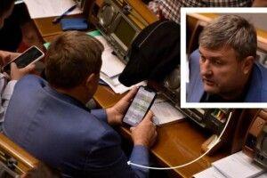 На засіданні Верховної Ради «Слуга народу» з Рівненщини обговорював плани на вечір п'ятниці