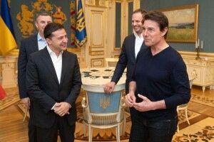 Тома Круза покатали київським метро