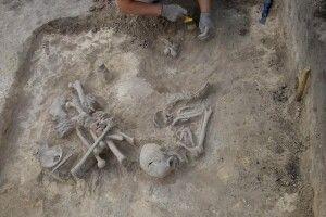 Рештки жінки, яка жила за 4 тисячі років до Різдва Христового, знайшли на Рівненщині