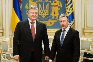 З Куртом ми всі в Україні почувалися впевненіше, - Порошенко про Волкера, який пішов у відставку