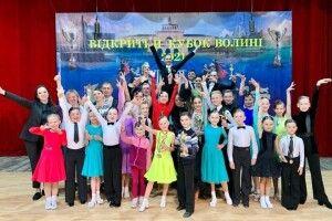 Ковель приймав всеукраїнські змагання з танцювального спорту