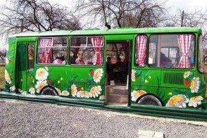 У громаді автобус перетворили на... креативний простір!