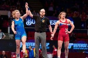 Українські борчині на Чемпіонаті Європи сьогодні здобули відразу три «золота»!