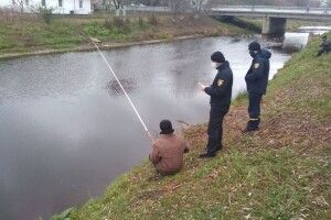 На Ратнівщині вже провели профілактику щодо безпеки на льоду