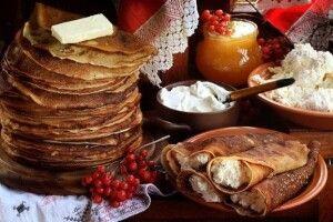 Масниць без млинців,  якіменин без пирогів,—  небуває!