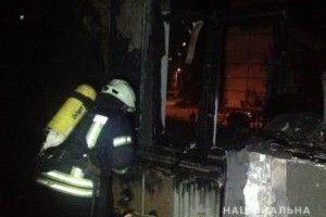 У Києві глупої ночі підпалили дитячий садок