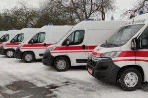 Волинська «швидка» отримала шість нових автомобілів для порятунку хворих на COVID-19 (Фото)