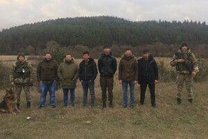 На кордоні з Польщею прикордонники затримали сімох нелегальних мігрантів