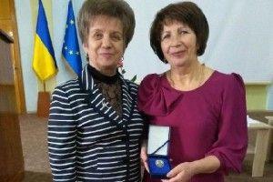 Ковельська освітянка відзначена нагрудним знаком  «Василя Сухомлинського»