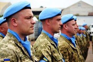 Генерал ЗСУ привітав українських миротворців