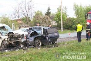 Моторошна ДТП у Жежелеві: четверо загиблих (фото)