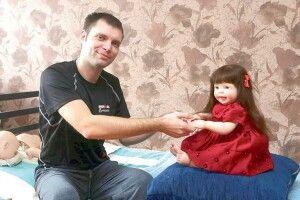 «Навіть акушерка спершу  не могла відрізнити мою ляльку від живої дитини»