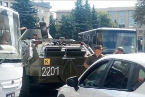 З'явилося відео з ймовірним терористом, який захопив людей у Луцьку