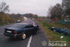 У Луцькому районі зіткнулися КІА та BMW, є постраждалі
