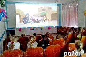 У селі Шацького району в будинку культури відкрили дитячий кінозал