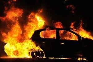 На Волині спалили автомобіль представника ЗМІ