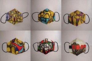 У Луцьку продають маски з принтами картин сучасних художників