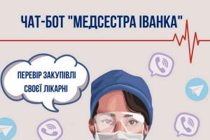 «Медсестра Іванка» допоможе дізнатися, скільки витрачають «ковідних» грошей волинські лікарні