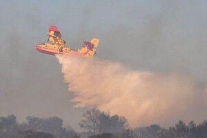 У Франції розбився літак під час гасіння лісових пожеж