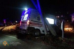 Зіткнулися маршрутка і «швидка»: постраждали шестеро осіб