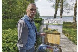 Митець ізВовчицька написав тисячі картин іпосадив десятки гектарів лісу