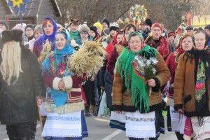 «Берегиня» із Жашковичів колядувала у столиці