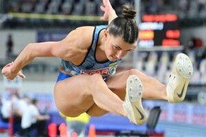 Стрибунка у довжину Марина Бех-Романчук в останній спробі здобула титул чемпіонки Європи