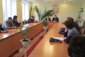У Камені-Каширському обговорювали майбутнє району