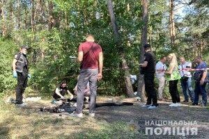 Жінка розчленувала чоловіка і намагалася спалити останки в лісі
