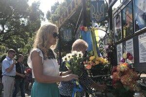 У Нововолинську вшанували  пам'ять загиблих захисників України