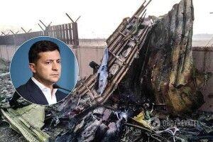 Зеленський про літак МАУ: «Я не міг публічно говорити, що нас збили»