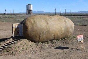 Як живеться людям у гігантській... картоплині?