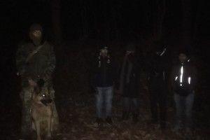 Громадянина Гани та чотирьох бангладешців затримали біля кордону з Польщею