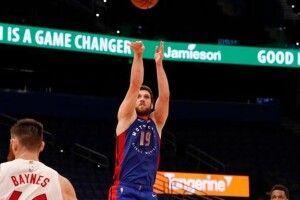НБА: Михайлюк допоміг «Детройту» перемогти «Торонто» (Відео атак)