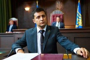 Коли Порошенко вітав із Новим роком, Зеленський на «1+1» оголошував, що йде в президенти (Відео)