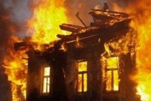 Від хати залишилася лише обгоріла стіна