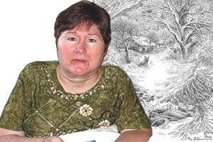 Валентина Протопоп зобразила новорічну мрію