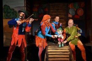 У Волинському театрі ляльок сьогодні – «Пригоди Піноккіо»