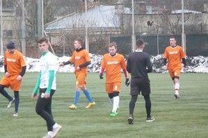 Нововолинська команда зійшлася у футбольному поєдинку з сильним суперником
