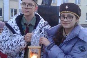 У Ківерцях відбулася урочиста церемонія передачі Вифлеємського вогню