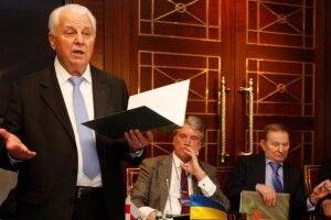 Про що Кравчук обіцяв не говорити в перемовинах щодо Донбасу
